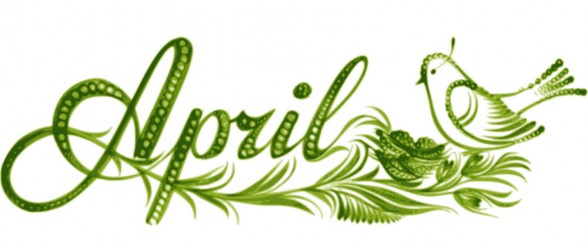 april-the-name-of-the-month-vector-1452830